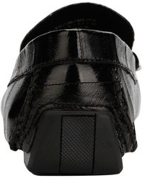 Kenneth Cole Theme Leather Driver - Black
