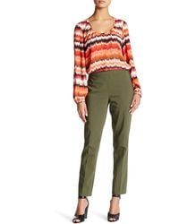 Chaus - Courtney Side Zip Pant - Lyst