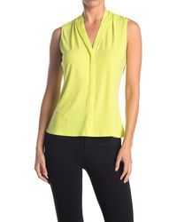 Calvin Klein V-neck Cami - Yellow
