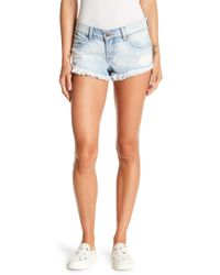 Pistola - Frayed Distressed Shorts - Lyst