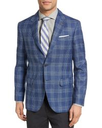 Moods Of Norway | Sol Trim Fit Plaid Wool Blend Sport Coat | Lyst