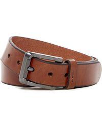 Fossil - Warren Leather Belt - Lyst