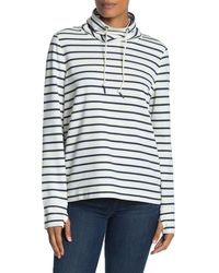 Vineyard Vines Double Face Stripe Print Relax Sweatshirt - Multicolor