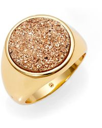Gorjana - Astoria Drusy Statement Ring - Lyst