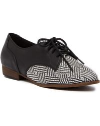 Restricted - Busy Lace Up Oxford - Lyst