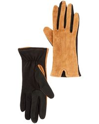 Guess - Touchpoint Suede Smart Gloves - Lyst