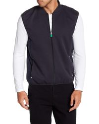 Save The Duck - Mixed Media Leisure Vest - Lyst