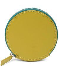 BAGGU - Leather Circle Wallet - Lyst