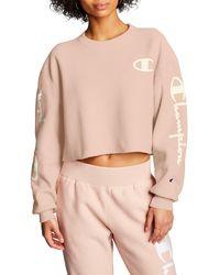 Champion Reverse Weave® Crop Sweatshirt - Multicolor