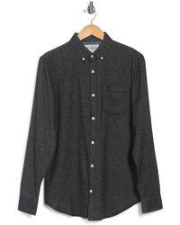 Original Penguin - Woven Long Sleeve Flannel Shirt - Lyst