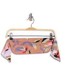 The Bikini Lab Hot Tropics Bandeau Bikini Top - Multicolor