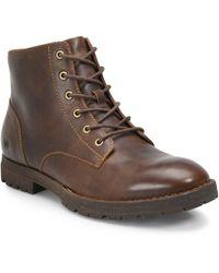 Born Hollis Plain Toe Boot - Brown