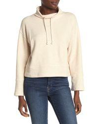Madewell Mock Neck Sweatshirt - White
