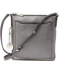 Marc Jacobs - Tourist Metallic Leather Ns Crossbody Bag - Lyst