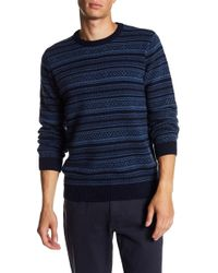 Barque - Striped Wool Sweater - Lyst