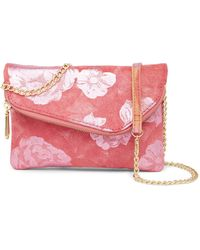 Hobo - Daria Convertible Snake Embossed Leather Clutch Crossbody - Lyst