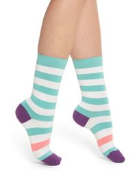 Paul Smith - Fearne Stripe Crew Socks - Lyst