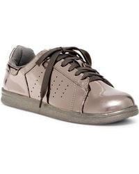 N.y.l.a. | Metallic Lace-up Trainer | Lyst