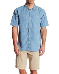 Jack O'neill - Ohana Solid Short Sleeve Regular Fit Shirt - Lyst