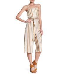 Alice + Olivia - Luci Spaghetti Strap Stripe Jumpsuit - Lyst