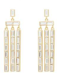 Gorjana Desi Chandelier Earrings - Metallic