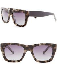 William Rast - Men's 51mm Polarized Rectangular Sunglasses - Lyst