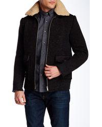 Slate & Stone - Faux Fur Spread Collar Coat - Lyst