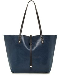 Sorial - Stingray Embossed Leather Reversible Tote - Lyst