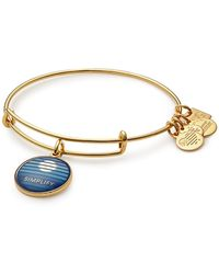 ALEX AND ANI - Charity By Design Simplify Charm Expandable Wire Bracelet - Lyst