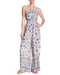 Dress Forum - Cutout Halter Jumpsuit - Lyst