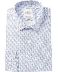 Ben Sherman - Key Print Stretch Skinny Fit Dress Shirt - Lyst