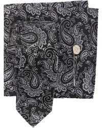 5b639fc99f8a Ben Sherman - Silk Wingate Paisley Tie, Pocket Square, & Lapel Pin Set -