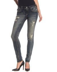Rock Revival Distressed Skinny Jeans