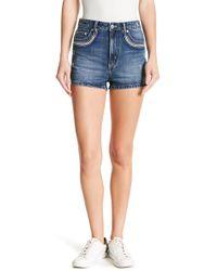 Tularosa - Emma Embroidered Shorts - Lyst