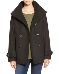 Thread & Supply Double Breasted Peacoat - Black