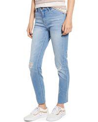 Vigoss Marley Ripped Skinny Jeans - Blue