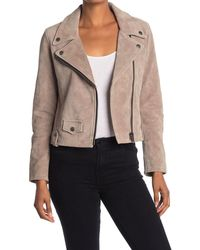 Frye Split Suede Biker Jacket - Multicolour