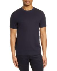 Ted Baker Caramel Slim Fit T-shirt - Blue