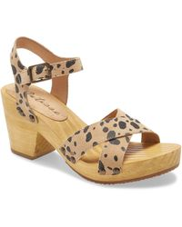 Matisse Jump In Platform Sandal - Brown