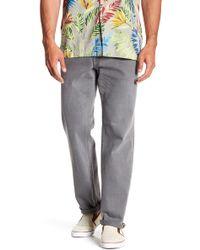 """Tommy Bahama West Side Keys Jeans - 30-34"""" Inseam - Gray"""