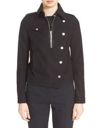 Anthony Vaccarello - Short Trench Coat - Lyst