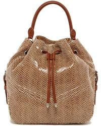 Sorial - Bella Leather Convertible Backpack - Lyst