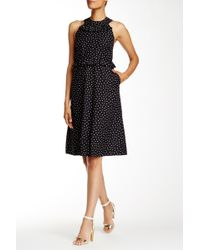 Orla Kiely - Ditsy Dot Dress - Lyst