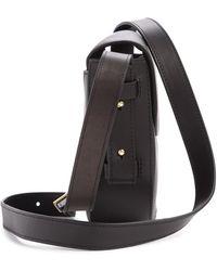Skagen - Lobelle Leather Saddle Crossbody Bag - Lyst