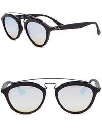 Ray-Ban - Phantos 50mm Aviator Sunglasses - Lyst