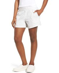 Caslon - (r) Off-duty French Terry Shorts - Lyst