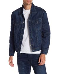 Blank NYC - Topstitched Denim Jacket - Lyst