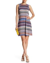 Karen Kane - Newport Stripe Tank Dress - Lyst