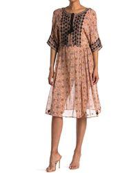 Raga Ajmer Tassel Dress - Natural