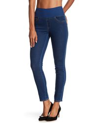 Foxcroft - Slimming Pull-on Jean - Lyst